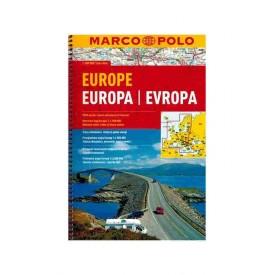 Atlas samochodowy Europa Marco Polo 1:800 000