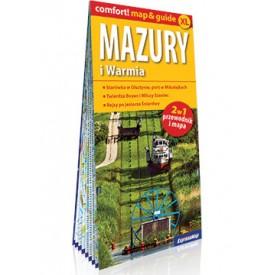 Mazury i Warmia Laminowany przewodnik map&guide ExpressMap