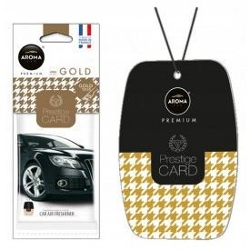 AROMA CAR Prestige Card GOLD ZAWIESZKA zapach
