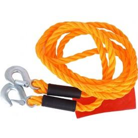 Linka holownicza sznur plecionka 3 tony 4m 2 haki
