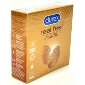 DUREX prezerwatywy REAL FEEL 3 szt. bezlateksowe