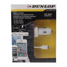 DUNLOP ŁADOWARKA samochodowa iPhone iPad iPod 12/24v