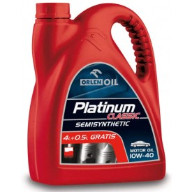 Olej Platinum Classic 10w40 4,5L