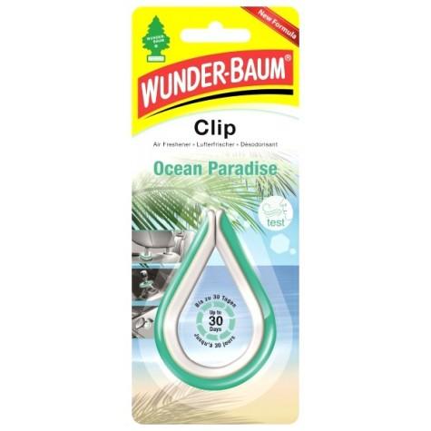 WUNDER-BAUM CLIP Zapach Ocean Paradise odświeżacz