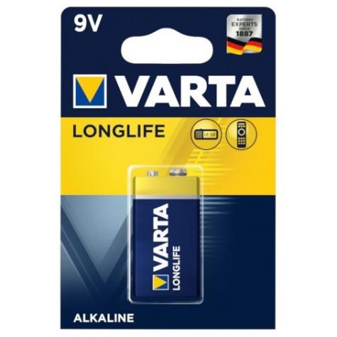 VARTA Longlife baterie 9V bateria 6LR61 6F22