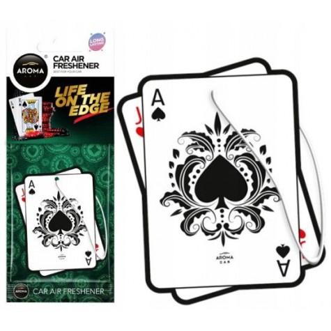 Aroma Car Seria KASYNO poker karta As BLACK JACK