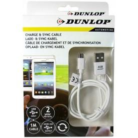 DUNLOP Kabel Micro USB 1m samochodowy do samochodu 09693