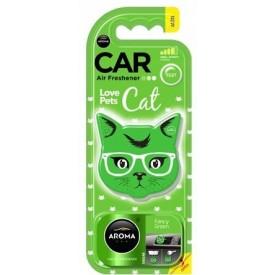 Aroma Car CAT - FANCY GREEN odświeżacz polimer