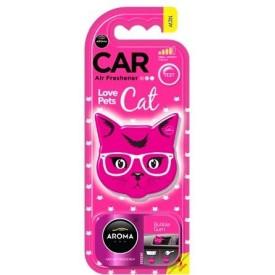 Aroma Car Cat - PINK BLOSSOM odświeżacz polimer