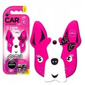 Aroma Car DOG PINK BLOSSOM Polimer odświeżacz